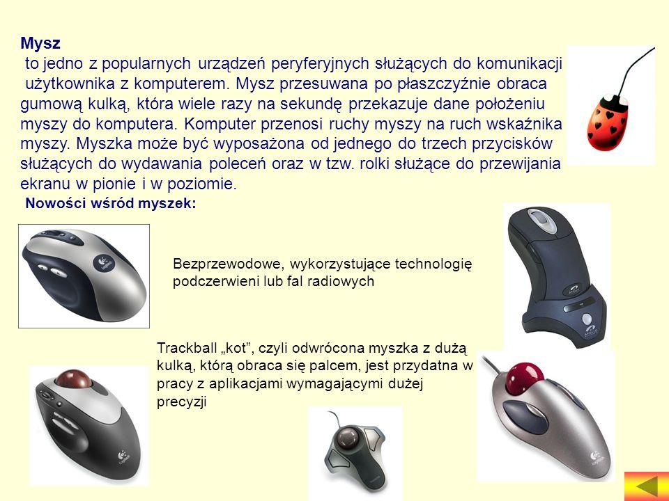 to jedno z popularnych urządzeń peryferyjnych służących do komunikacji