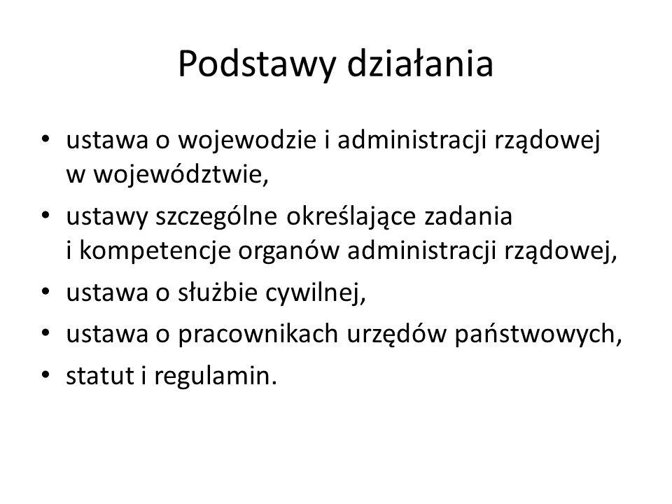 Podstawy działania ustawa o wojewodzie i administracji rządowej w województwie,