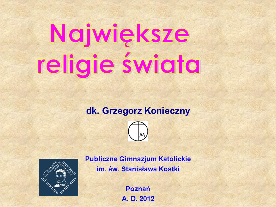 Publiczne Gimnazjum Katolickie im. św. Stanisława Kostki