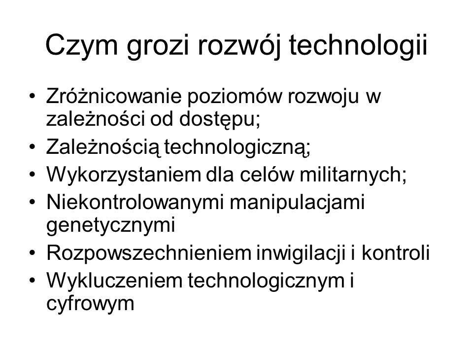 Czym grozi rozwój technologii