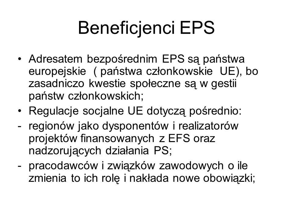 Beneficjenci EPS