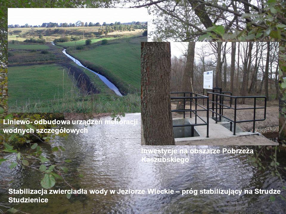 Liniewo- odbudowa urządzeń melioracji wodnych szczegółowych