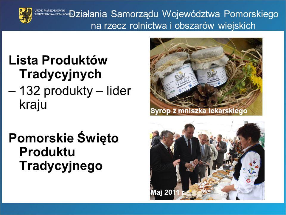 Lista Produktów Tradycyjnych – 132 produkty – lider kraju