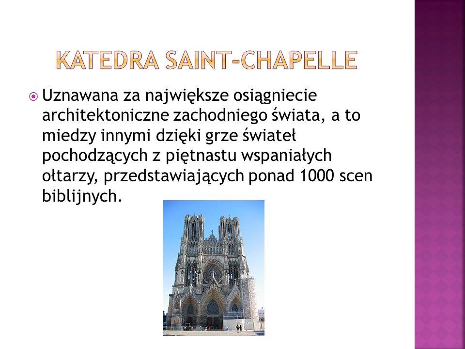Katedra Saint-Chapelle