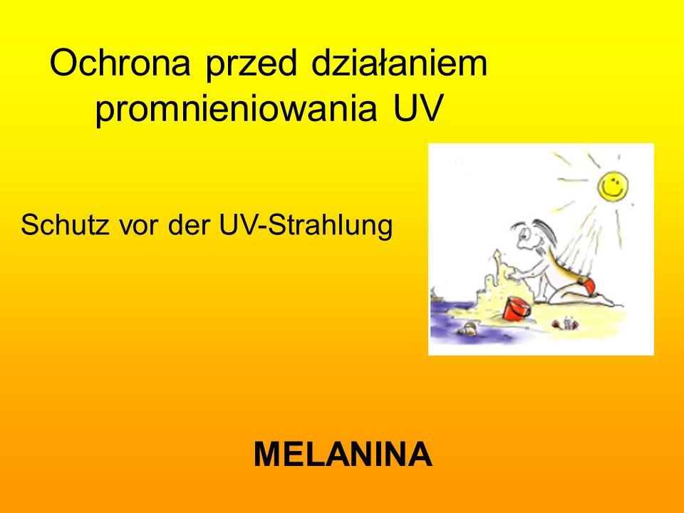 Ochrona przed działaniem promnieniowania UV