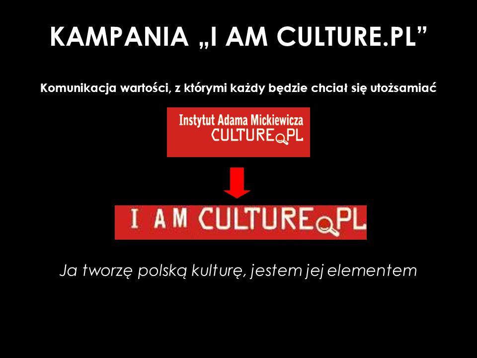 "KAMPANIA ""I AM CULTURE.PL"