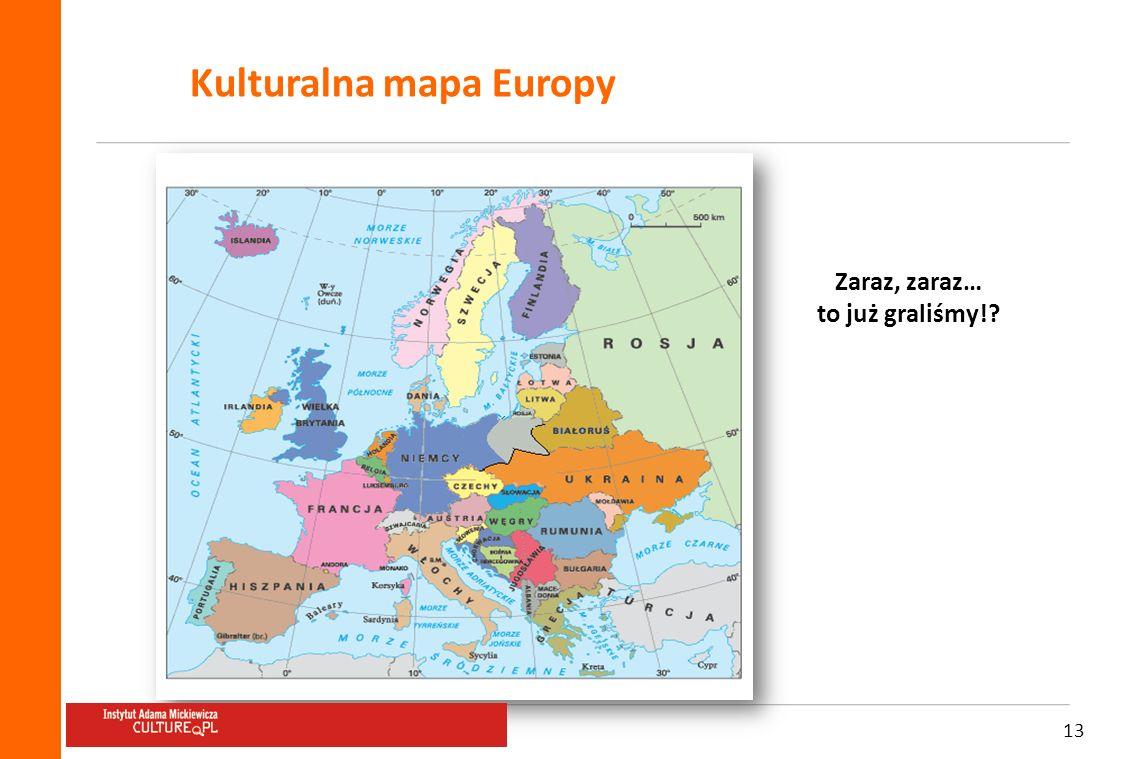 Kulturalna mapa Europy