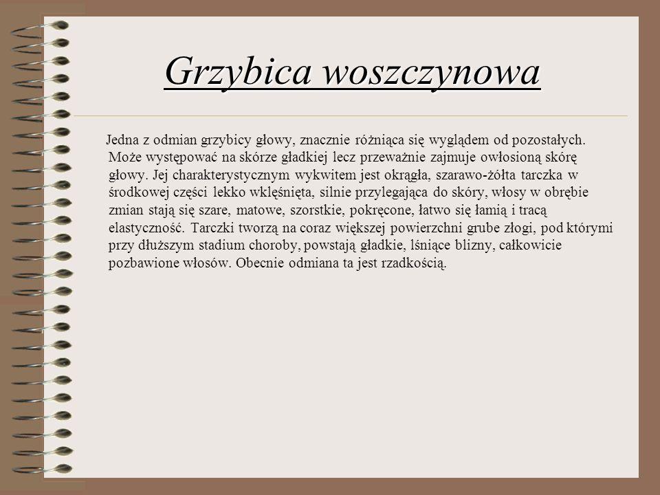 Grzybica woszczynowa