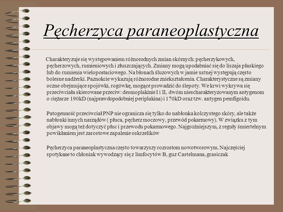 Pęcherzyca paraneoplastyczna