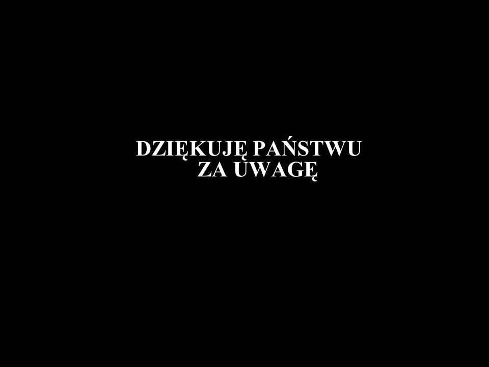 DZIĘKUJĘ PAŃSTWU ZA UWAGĘ