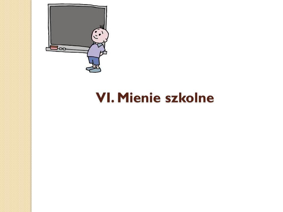 VI. Mienie szkolne