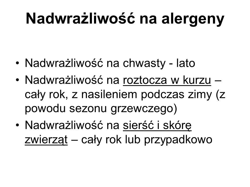 Nadwrażliwość na alergeny