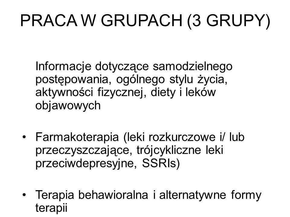 PRACA W GRUPACH (3 GRUPY)