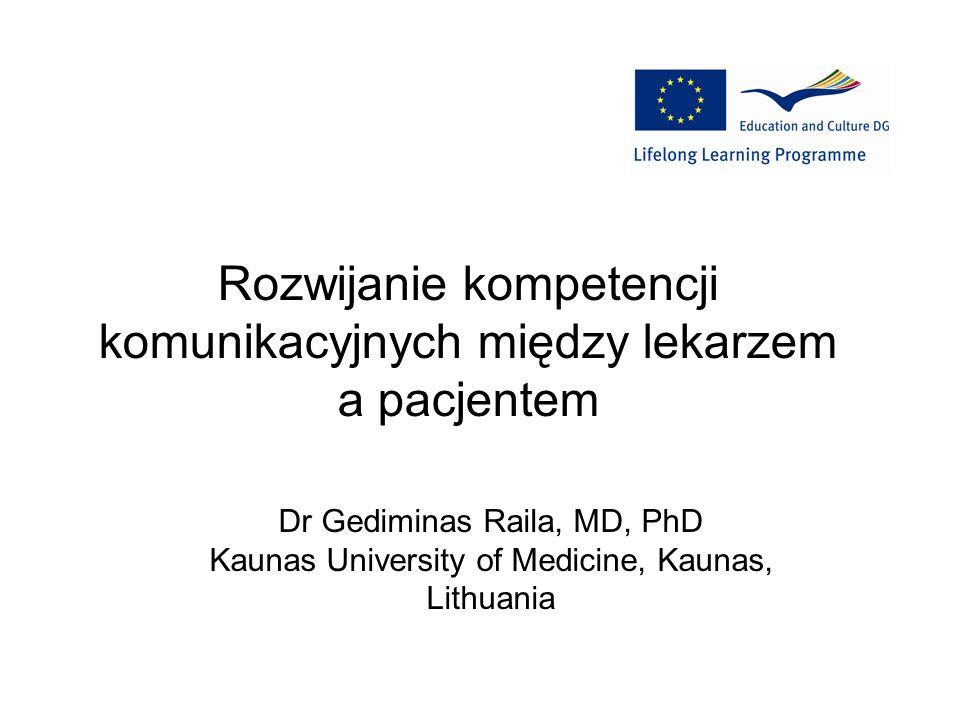 Rozwijanie kompetencji komunikacyjnych między lekarzem a pacjentem