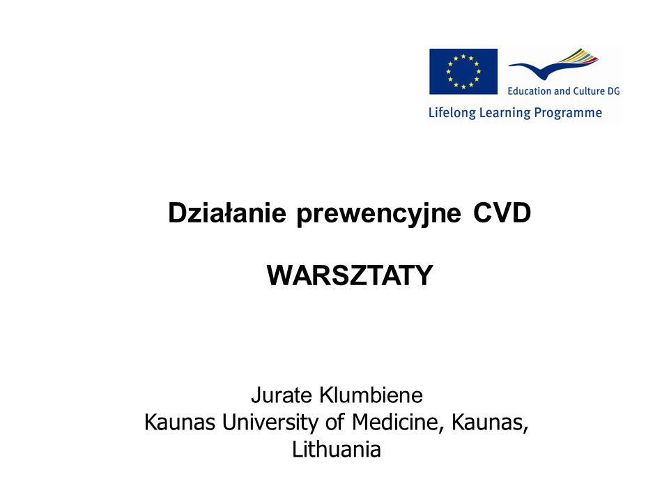 Działanie prewencyjne CVD WARSZTATY