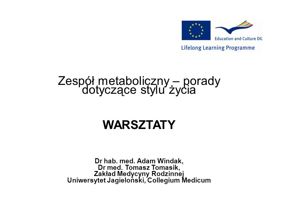 Zakład Medycyny Rodzinnej Uniwersytet Jagieloński, Collegium Medicum