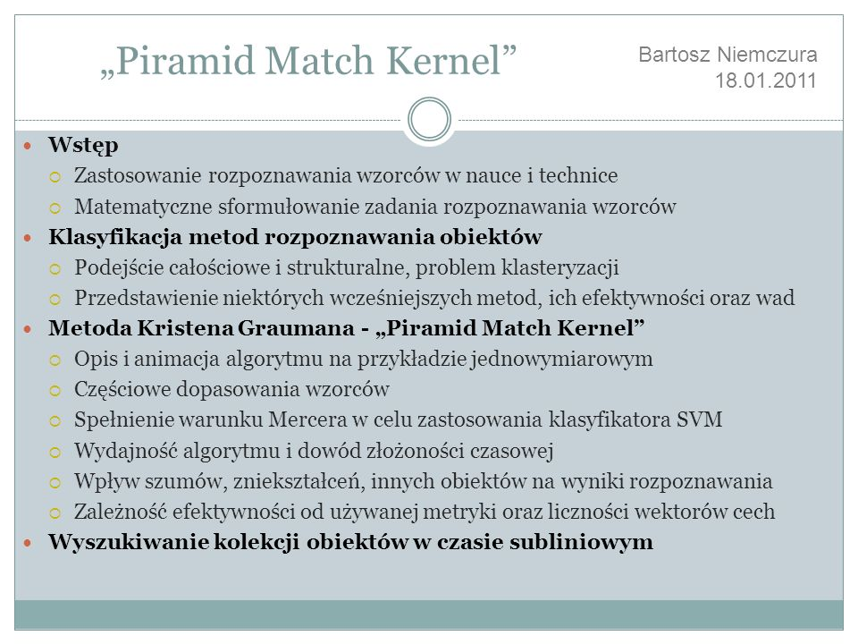 """Piramid Match Kernel"