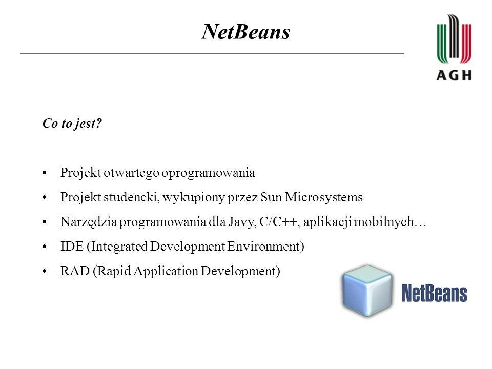 NetBeans Co to jest Projekt otwartego oprogramowania