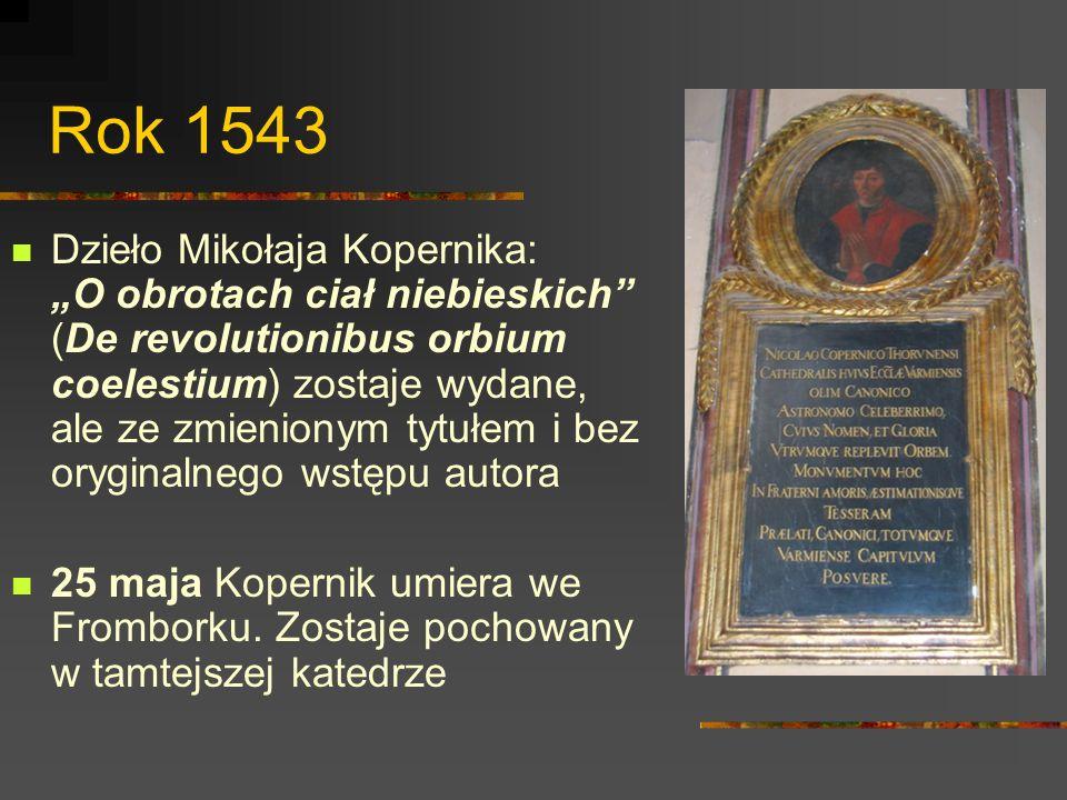 Rok 1543