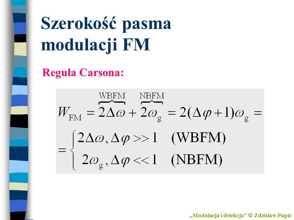 Szerokość pasma modulacji FM