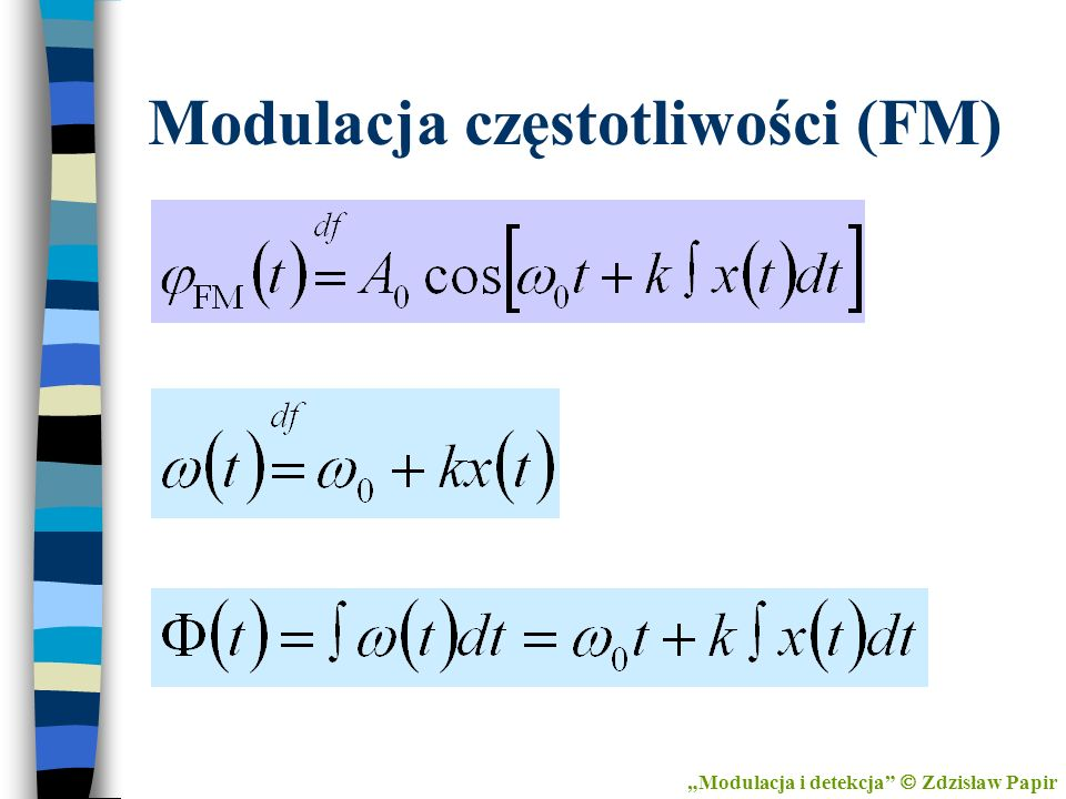 Modulacja częstotliwości (FM)