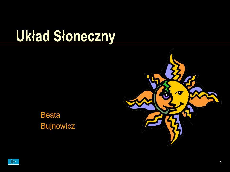 Układ Słoneczny Beata Bujnowicz