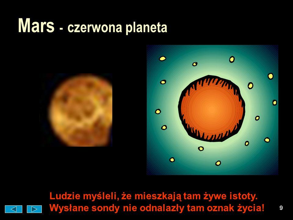 Mars - czerwona planeta