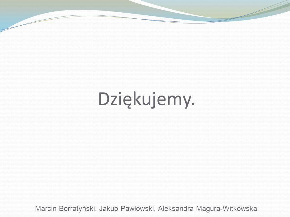 Marcin Borratyński, Jakub Pawłowski, Aleksandra Magura-Witkowska