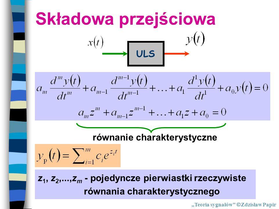 równanie charakterystyczne
