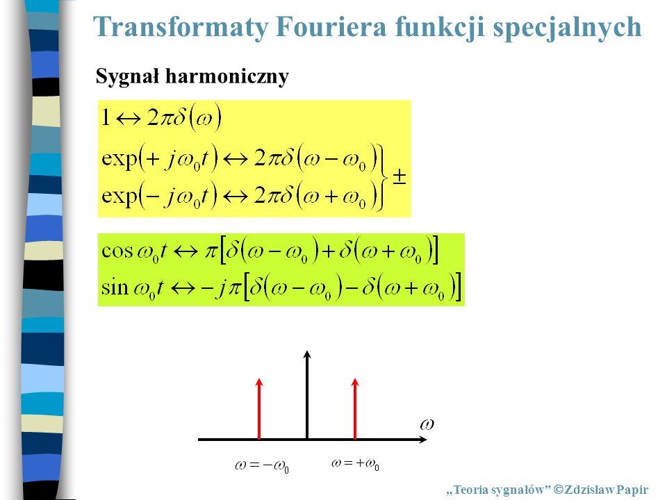 Transformaty Fouriera funkcji specjalnych