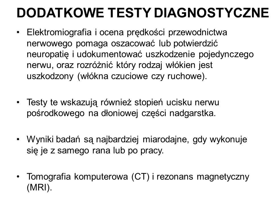 Dodatkowe testy diagnostyczne