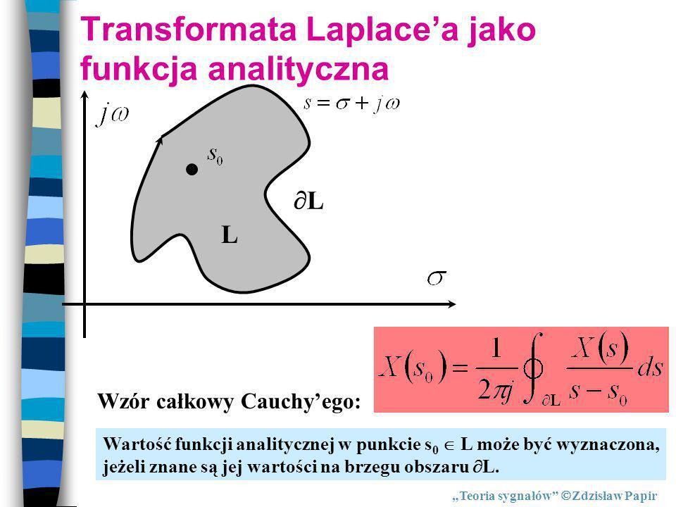 Transformata Laplace'a jako funkcja analityczna