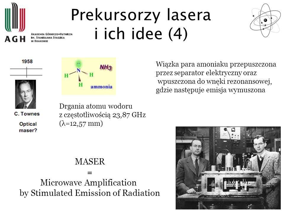 Prekursorzy lasera i ich idee (4)