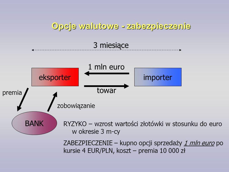 Opcje walutowe - zabezpieczenie