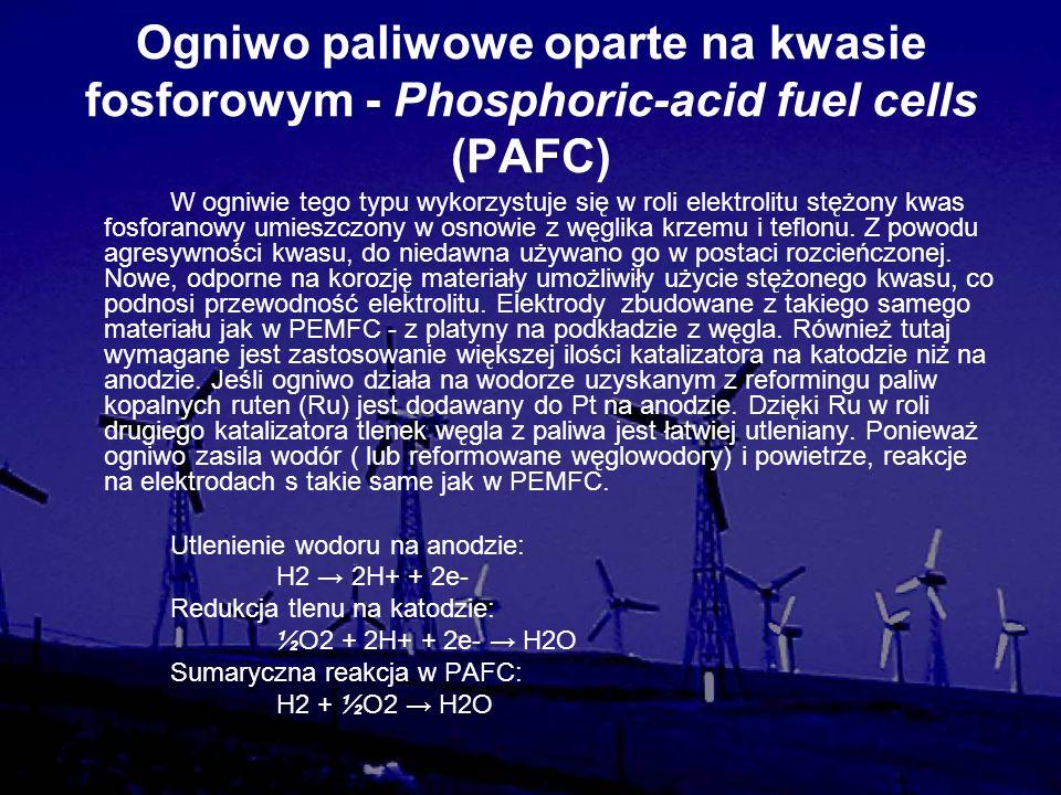 Ogniwo paliwowe oparte na kwasie fosforowym - Phosphoric-acid fuel cells (PAFC)