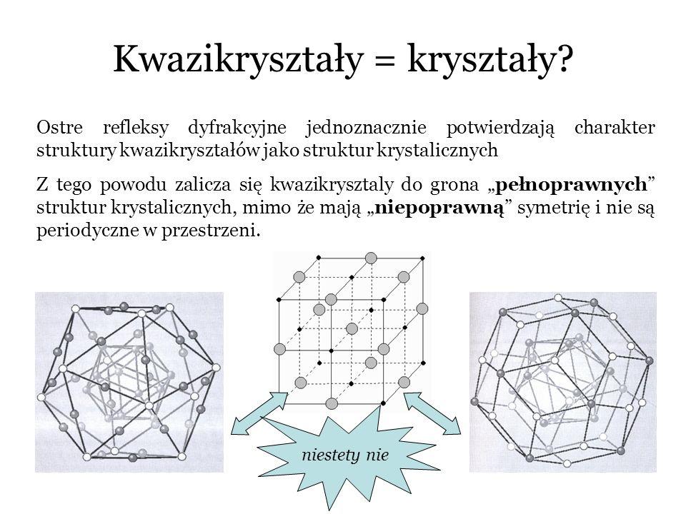 Kwazikryształy = kryształy