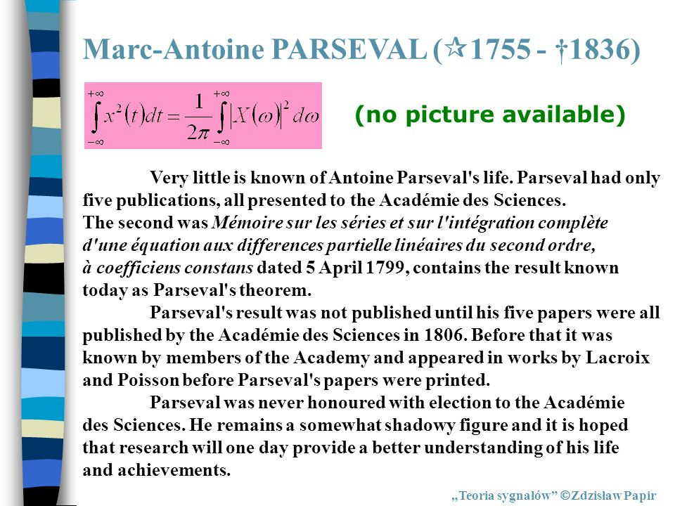 Marc-Antoine PARSEVAL (1755 - †1836)