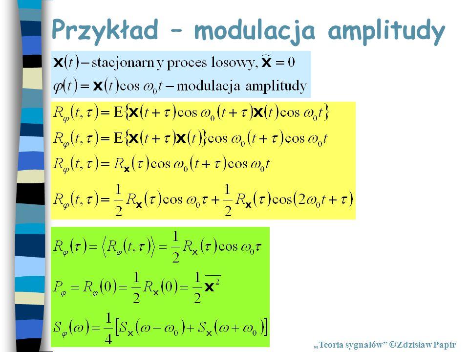 Przykład – modulacja amplitudy