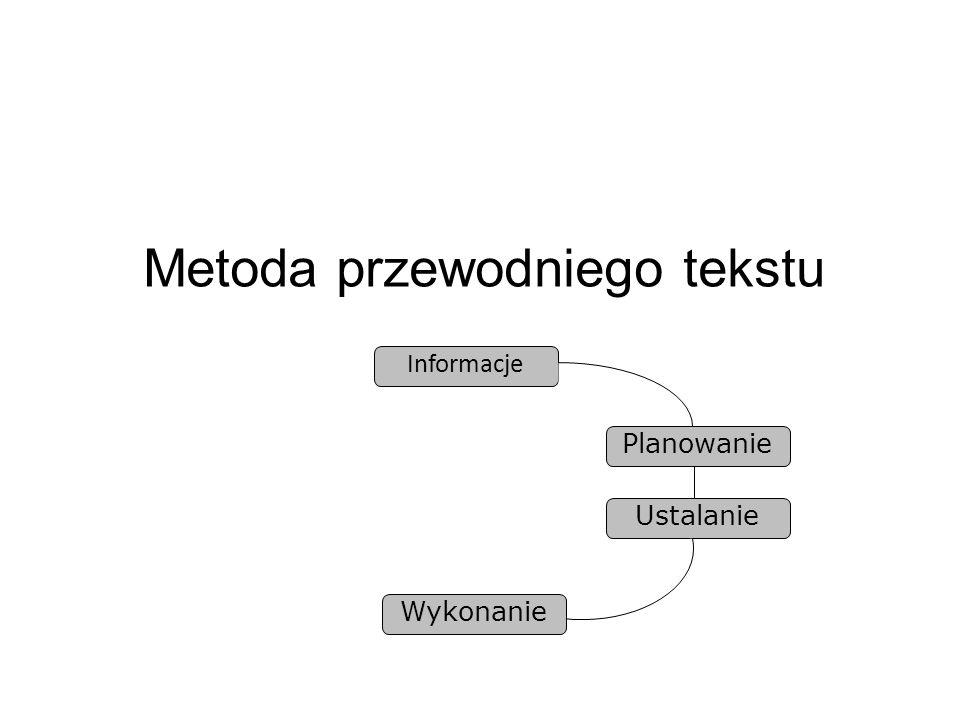Metoda przewodniego tekstu