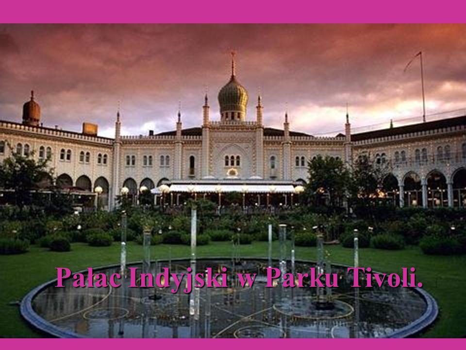 Pałac Indyjski w Parku Tivoli.