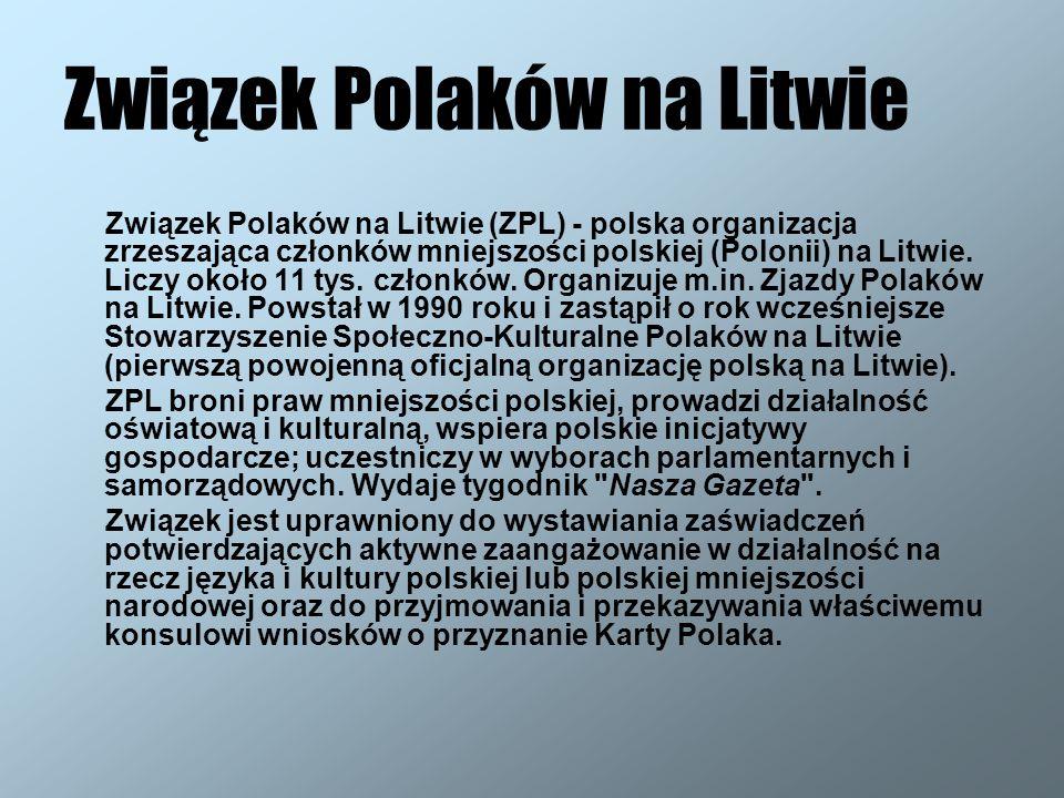 Związek Polaków na Litwie