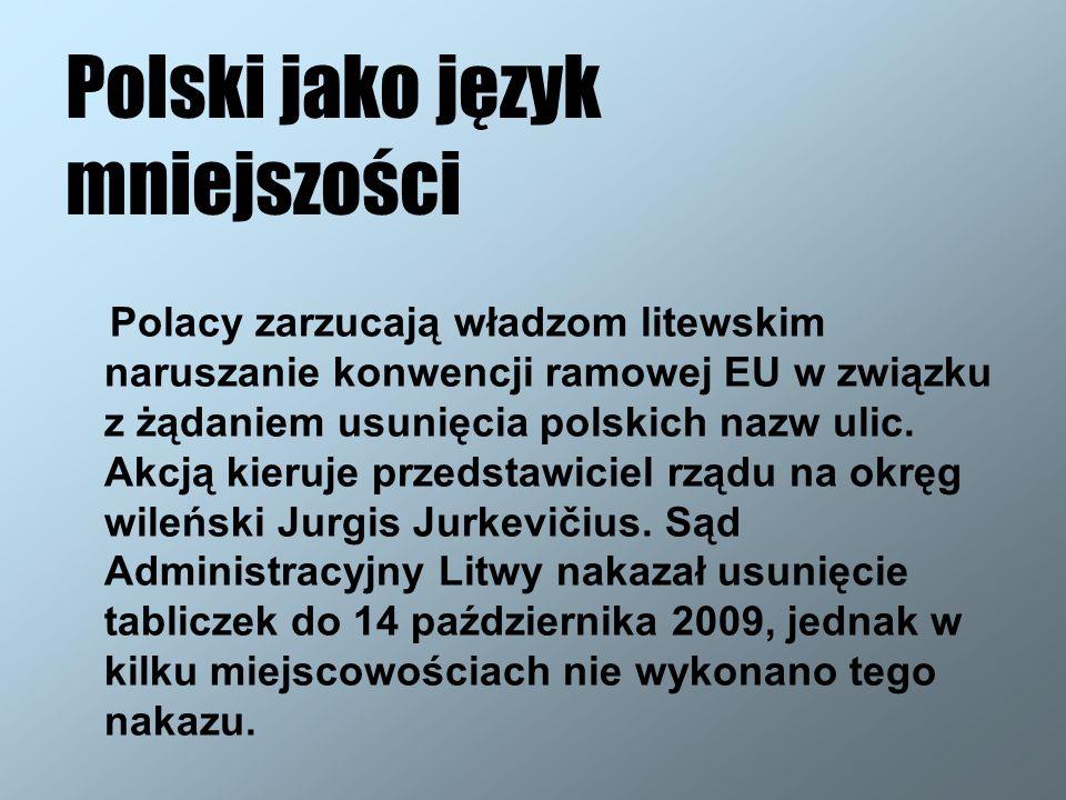 Polski jako język mniejszości