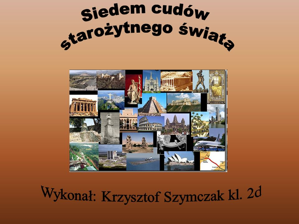 Wykonał: Krzysztof Szymczak kl. 2d