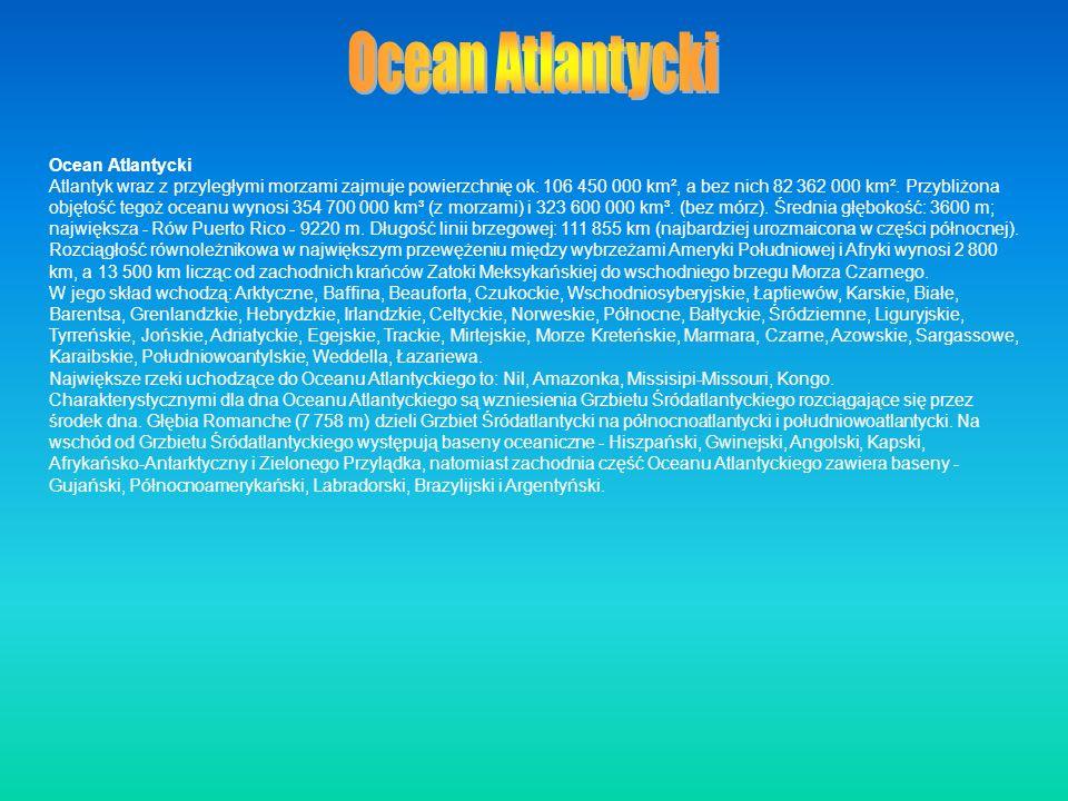 Ocean Atlantycki Ocean Atlantycki