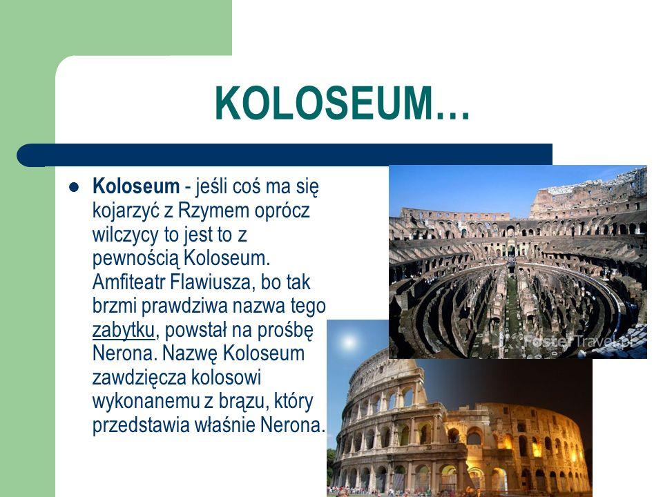 KOLOSEUM…