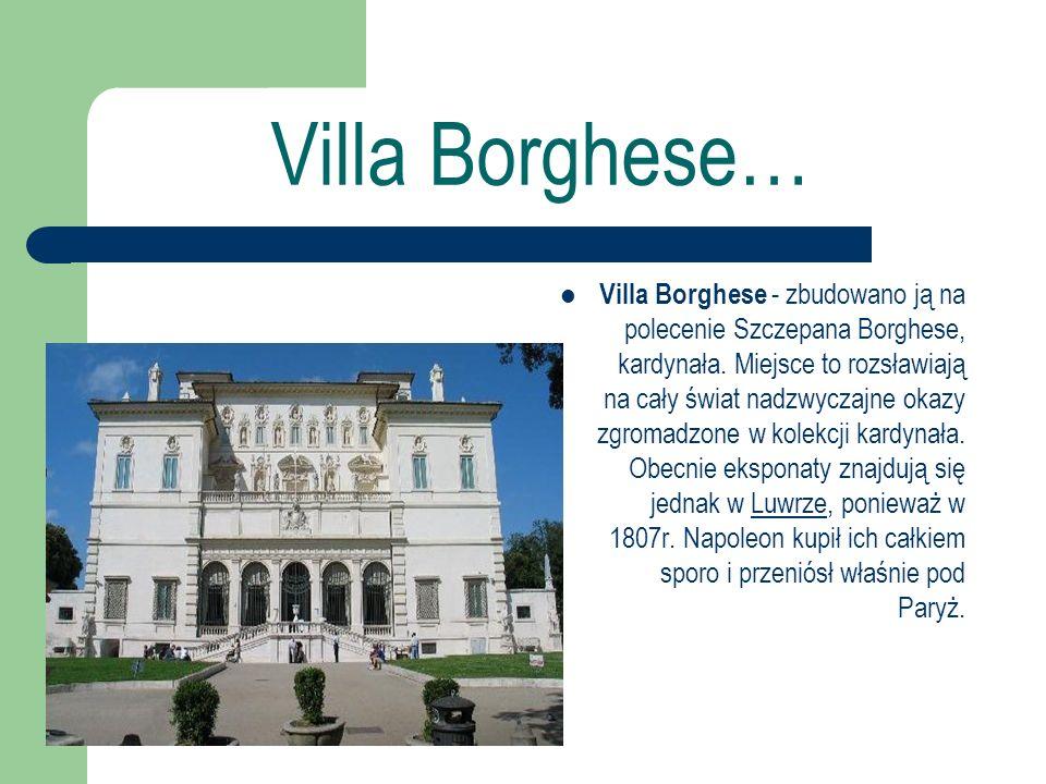 Villa Borghese…