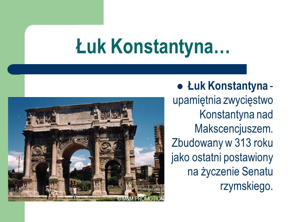 Łuk Konstantyna…