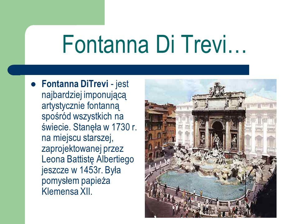 Fontanna Di Trevi…