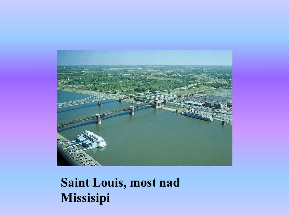 Saint Louis, most nad Missisipi