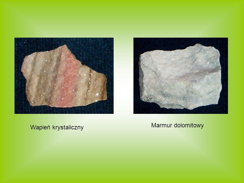 Marmur dolomitowy Wapień krystaliczny